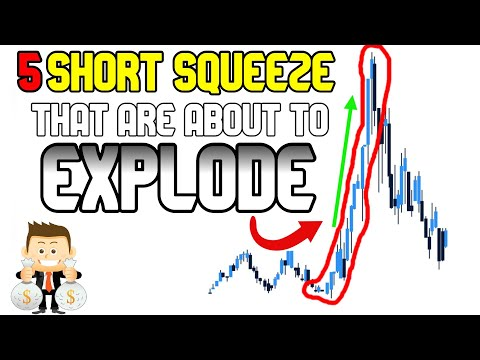5 Short Squeeze Stocks NO ONE is Talking About! GET IN NOW!