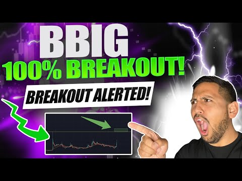 WHATS NEXT!?   BBIG Vintor Mission inc Inventory Chart Technical Analysis & Imprint Predictions Update!