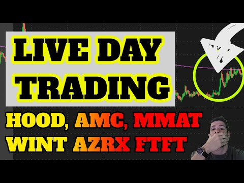 🔴LIVE DAY TRADING! MMAT + BBIG Speed, BTC + DOGE Tag? SPRT Speed? AMC Use? Penny Shares ATER NURO
