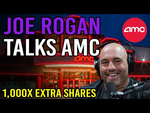 OMG! 🔥 JOE ROGAN SAID THIS ABOUT AMC STOCK – 1,000x MORE SHARES TRADED THAN EXIST🔥 AMC Fast Squeeze