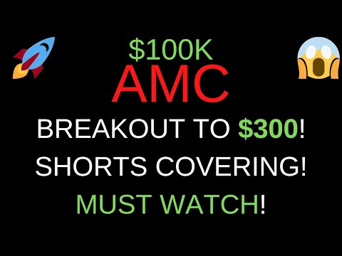 🔥 HUGE AMC PRICE PREDICTION FOR THIS WEEK! 🚀 BREAKOUT TO $300! SHORTS HAVE TO COVER!