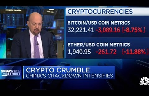 LOL Time to Buy Bitcoin and $SPRT. Why ? Jim Cramer says he sold almost about all his bitcoin.