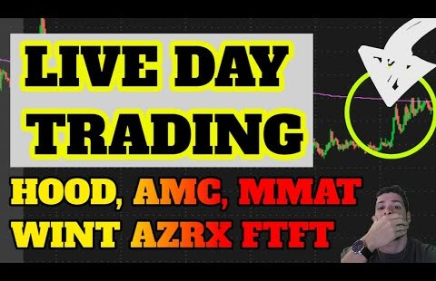 🔴LIVE DAY TRADING – AMC RUNNING! SPRT BACK? MMAT! BBIG RUN! BTC? ETH DOGE? Penny Inventory ISEE SOS CEI