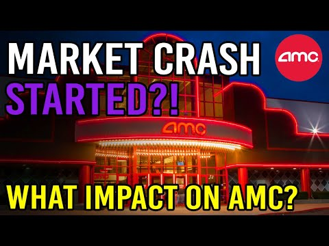 HAS THE MARKET CRASH ALREADY STARTED?! 🔥 – AMC Stock Short Squeeze Update