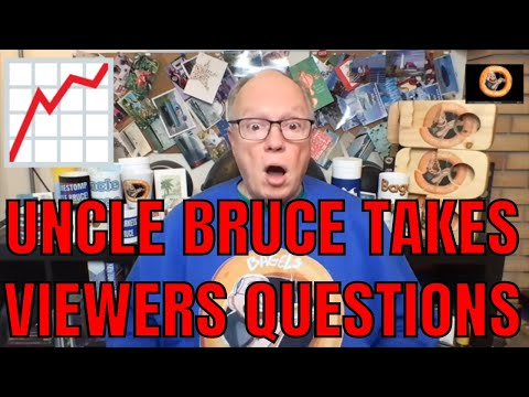 VIEWER QUESTIONS FOR UNCLE BRUCE GAMESTOP APPLE AMC OPTIONS TRADING SHORT SQUEEZE SPACS
