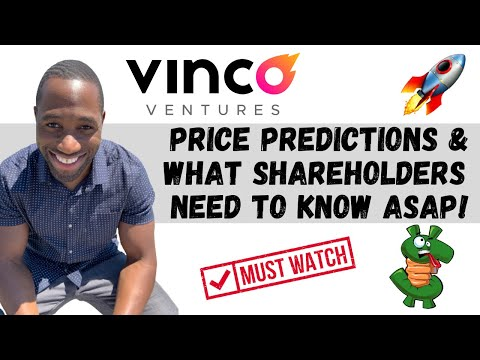 BBIG STOCK (Vinco Ventures) | Tag Predictions | Diagnosis | AND What Shareholders Need To Know!