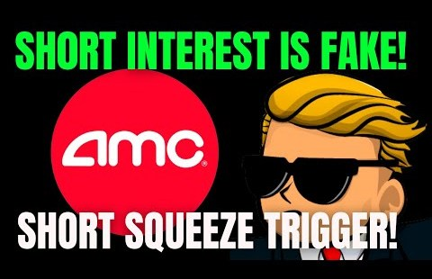 AMC STOCK 🔥 FAKE SHORT INTEREST & SHARES BEING BOUGHT! AMC SHORT SQUEEZE UPDATE!