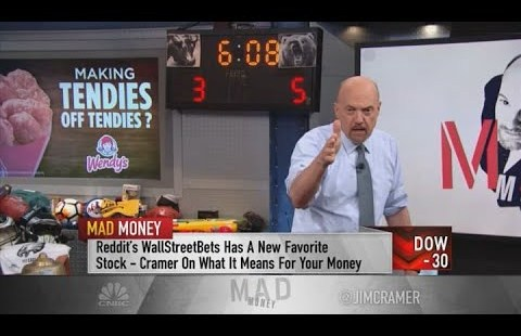 Jim Cramer on Wall Boulevard Bets customers: 'They're spreading their wings'