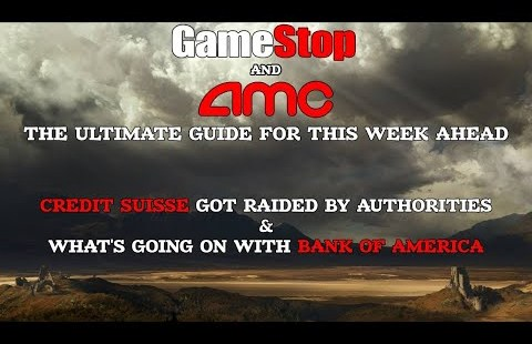 AMC Stock & GME Stock – We Are no longer Going Anywhere 'til We Internet MOASS. The Last Files For This Week