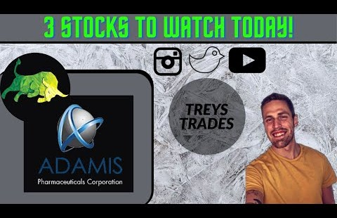 3 PENNY STOCKS TO WATCH FOR SWING TRADES TODAY! ADMP, PTE, & SENS!