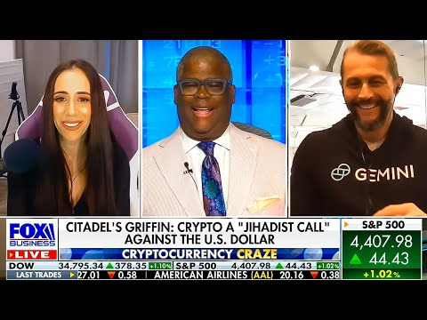 Charles Payne Today time On Crypto, Ken Griffin, & Retail Patrons