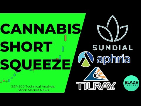 Feb 11 – Inventory Market Dwell | SNDL STOCK Cannabis Inventory SHORT SQUEEZE! | CGC, APHA, TLRY Inventory