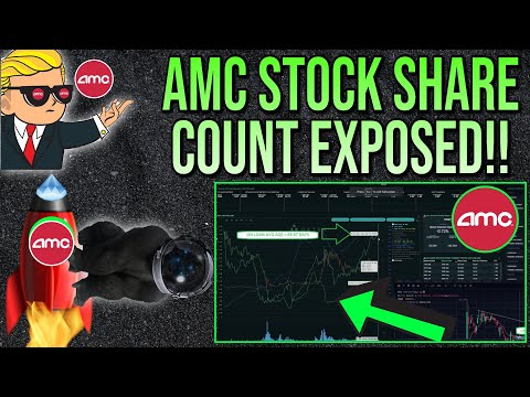 🚀 AMC STOCK | NEW SHARE COUNT DATA EXPOSES EVERYTHING!!