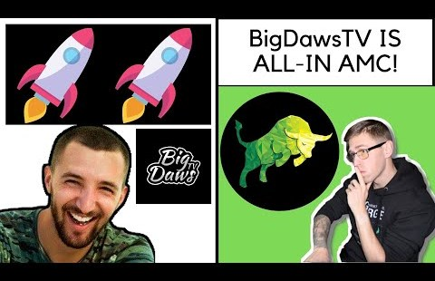 @BigDawsTv Is ALL-IN On AMC! Why Silverback Daws Invested $200,000 Into AMC!