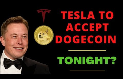 DOGECOIN WILL BE ACCEPTED BY TESLA TONIGHT? (MASSIVE FOR HOLDERS)   DOGECOIN NEWS