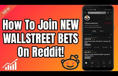 How To Join NEW WALLSTREET BETS On Reddit! | NEW r/wallstreetbets
