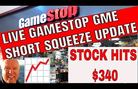 Are dwelling GameStop GME Rapid Squeeze News and Updates with Stock Markets With Bruce 9 am et