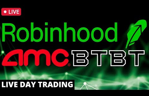 AMC Brief Squeeze | Bitcoin | Day Procuring and selling Are residing – HOOD stock, BTBT stock, Dogecoin