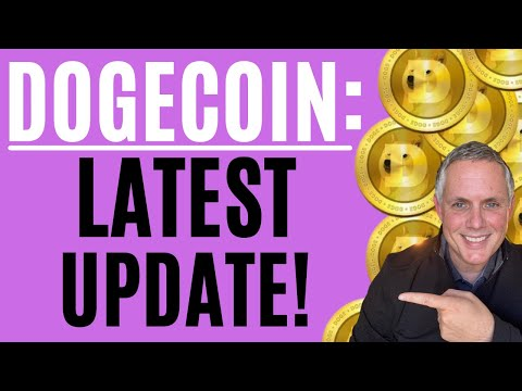 DOGECOIN PRICE GOING UP!!  FIND OUT WHY! HONEST UPDATE ABOUT DOGECOIN + DOGECOIN PRICE PREDICTION!