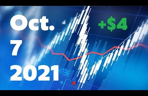 Each day Shopping and selling Recap   October 7, 2021   BBIG DATS GROM