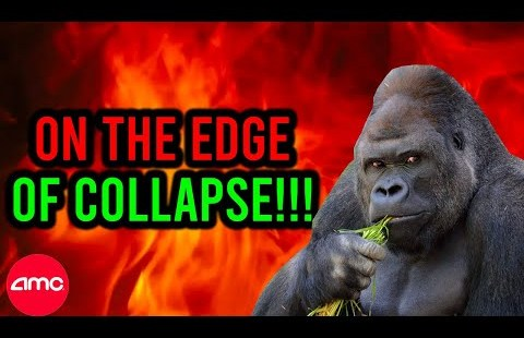 THEY ARE ON THE EDGE OF COLLAPSE + FIRST DOMINO JUST FELL!! AMC SHORT SQUEEZE UPDATE!!
