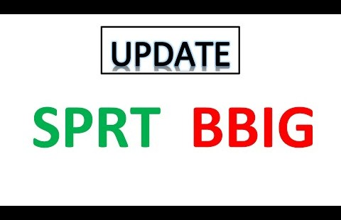 #SPRT 🔥 #BBIG 🔥 Updates on label motion.Crucial Key levels, quick volumes and accumulate in touch with choice job