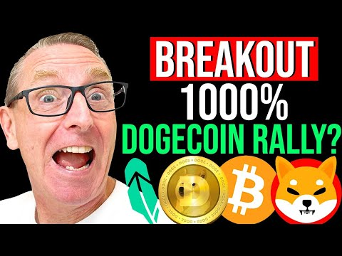 OMG!! 1000% BREAKOUT !! SHIBA INU & DOGECOIN ABOUT TO RALLY? LATEST BREAKING NEWS, PRICES & ANALYSIS