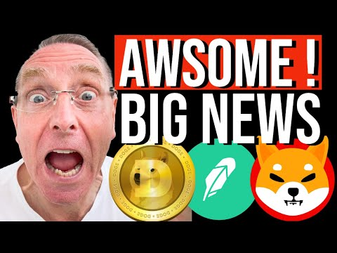 SHIBA INU COIN !!! AWSOME GOOD NEWS!!  THE WAIT IS OVER!!  IT'S HERE! DOGECOIN TO $1 DOLLAR !  #SHIB