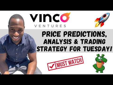 BBIG STOCK (Vinco Ventures)   Label Predictions   Diagnosis   AND Shopping and selling Technique For Tuesday!