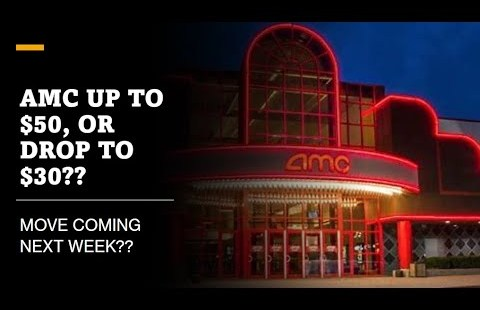 AMC Stock: Pop to $50, or fall to $30 is coming soon…