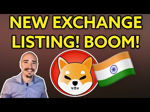 SHIBA INU HAS BEEN LISTED TO A NEW EXCHANGE! (SHIB SAVES LIVES)