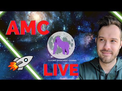 [LIVE] AMC Stock Q&A and Prognosis Into The Conclude Thursday!