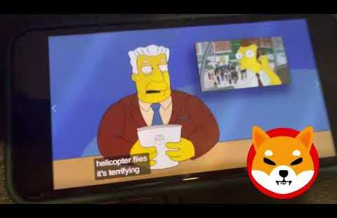 Did The Simpsons Predict The Rise of Shiba Inu Coin?! (Must Glance) 👀🐕