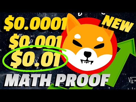 The REAL TRUTH of $0.01 SHIB Printed! (MATH EXPLAINED)   Shiba Inu Crypto One Cent Prediction NEW