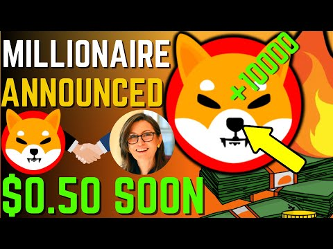 SHIBA INU COIN NEWS TODAY – CATHIE WOOD ANNOUNCED SHIBA WILL REACH $0.50! – PRICE PREDICTION UPDATED