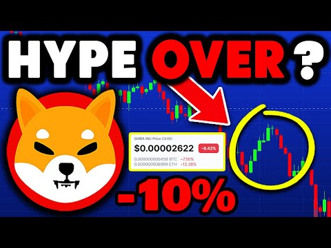 SHIBA INU: Why Is SHIB Falling? (Is The Hype Over?) – SHIB Price Prediction
