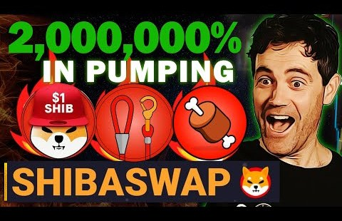 Shibaswap Announced Shiba Inu Coin Will Skyrocket To $0.1 After this!!