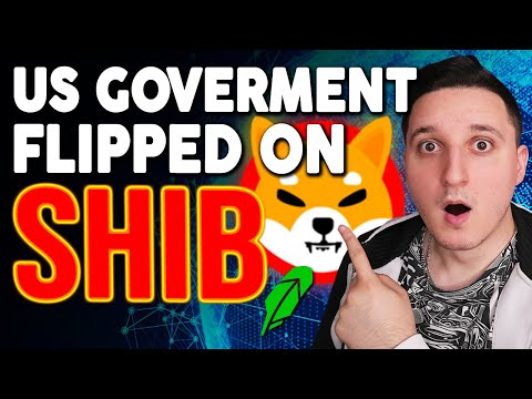BREAKING NEWS! THE US GOVERNMENT JUST FLIPPED ON SHIBA INU COIN AND ALL CRYPTOCURRENCY !