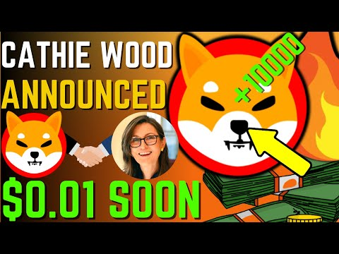 SHIBA INU COIN NEWS TODAY – CATHIE WOOD REVEALED SHIBA WILL REACH $0.01! – PRICE PREDICTION UPDATED
