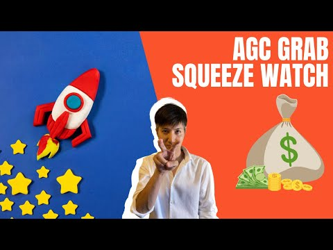 AGC Grab Stock Short Squeeze Glance   Day 2