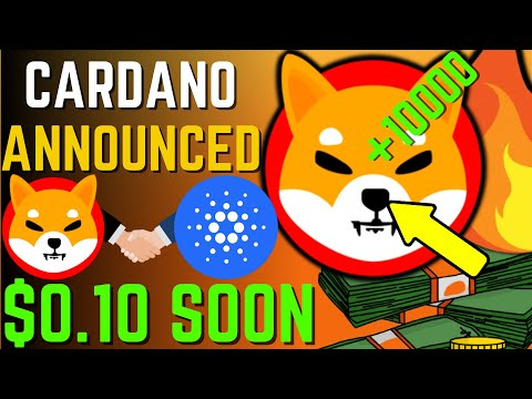 SHIBA INU COIN NEWS TODAY – SHIBA TO REPLACE CARDANO AND WILL REACH $0.10 – PRICE PREDICTION UPDATED