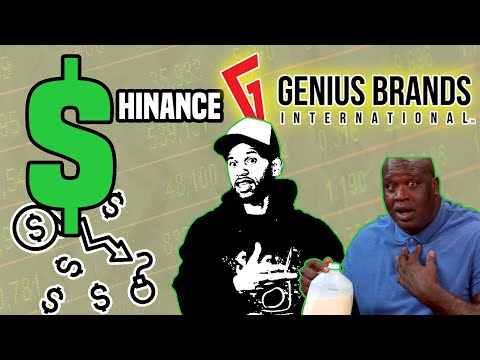 SHAQ invested in GNUS Stock   $HINANCE