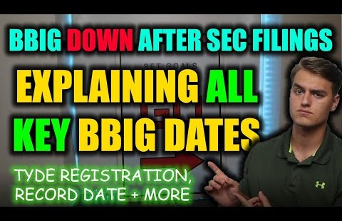 VERY IMPORTANT BBIG STOCK UPDATE – NEW BBIG KEY DATES EXPLAINED! BBIG Stock Evaluation + Prediction