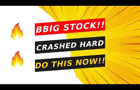 BBIG STOCK!! 🔥 STOCK CRASHED AFTER HOURS!! DOING THIS ASAP!!