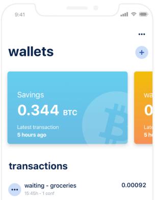 Portefeuille Bitcoin (BTC)
