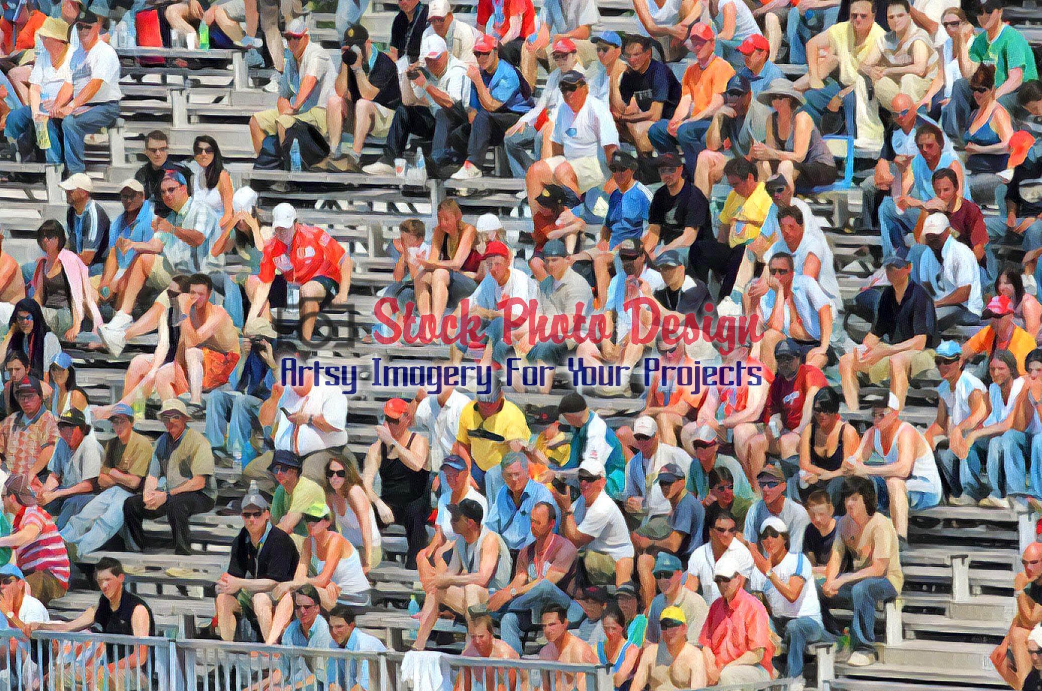 Spectators at a Public Event