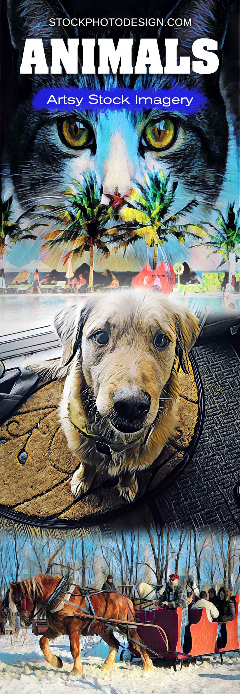 Artsy Stock Animals Images at Great Prices. Stockphotodesign.com