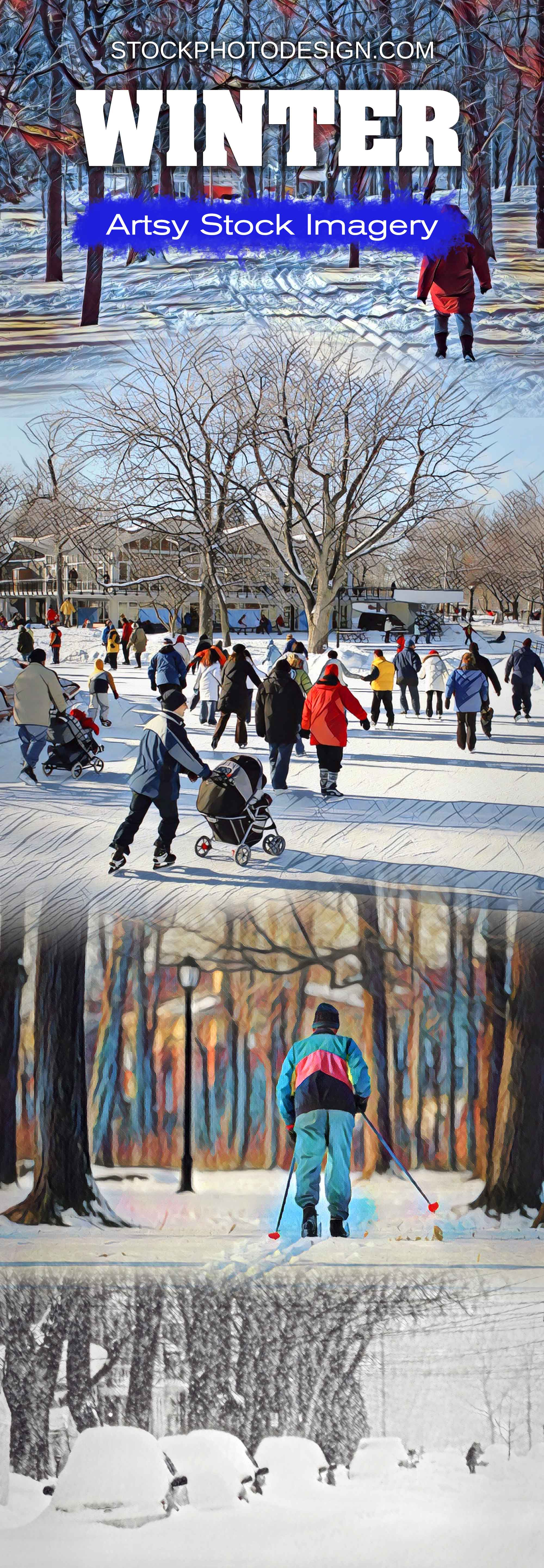 Artsy Stock Winter Images at Great Prices. Stockphotodesign.com