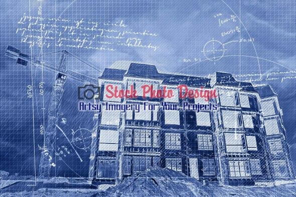 Apartment Construction Project Blueprint 1