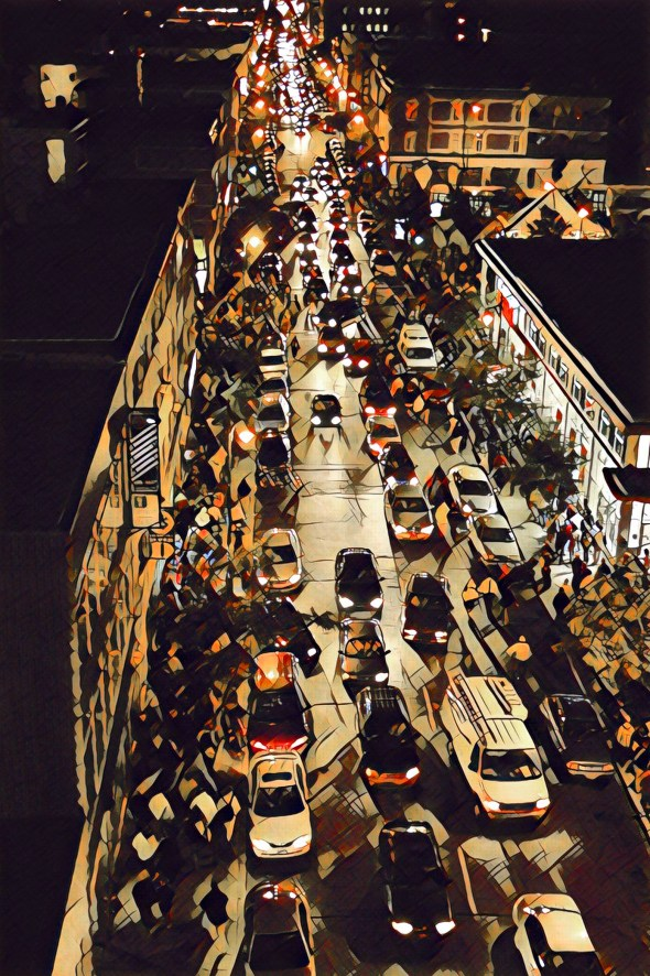 Night Traffic 3